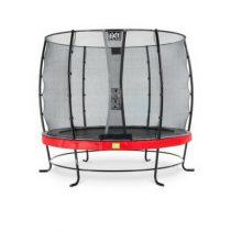 EXIT Elegant trampoline 253cm met veiligheidsnet economy rood