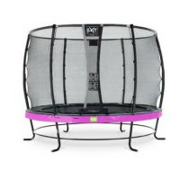 EXIT Elegant trampoline 305cm met veiligheidsnet Deluxe paars