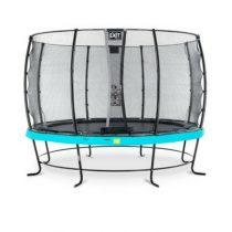 EXIT Elegant trampoline 366cm met veiligheidsnet economy blauw
