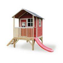 EXIT Loft 300 houten speelhuisje rood