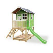 EXIT Loft 500 houten speelhuisje groen
