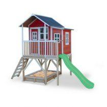 EXIT Loft 550 houten speelhuisje rood