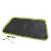 EXIT groundlevel trampoline afdekhoes rechthoekig 244x427cm