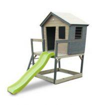 EXIT Aksent houten speelhuis grijs