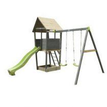 Exit Aksent houten speeltoren met schommels 2