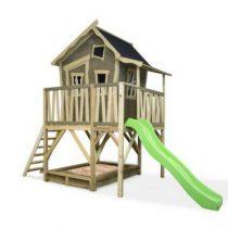 Exit Crooky 550 houten speelhuis grijsbeige
