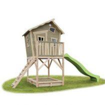 Exit Crooky 700 houten speelhuis grijsbeige