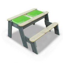 Exit aksent zand- en water - en picknicktafel (1bankje)