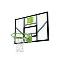 Exit galaxy basketbalbord met dunkring en net groen-zwart