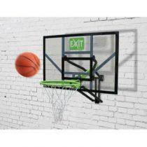Exit galaxy basketbalbord voor muurmontage groen-zwart
