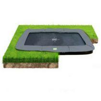 Exit interra groundlevel trampoline 214 x 366 cm grijs