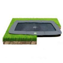 EXIT InTerra groundlevel trampoline 244 x 427cm