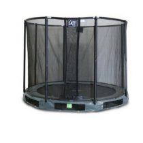Exit interra inground trampoline 244cm met veiligheidsnet grijs