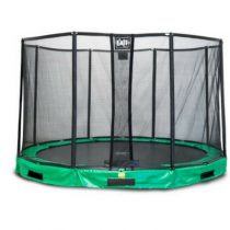Exit interra inground trampoline 366cm met veiligheidsnet groen