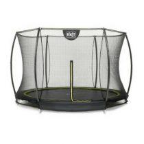 Exit silhouette inground trampoline 305cm met veiligheidsnet