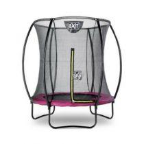 EXIT Silhouette inground trampoline 183cm met veiligheidsnet roze
