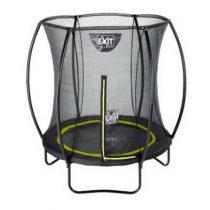 EXIT Silhouette inground trampoline 183cm met veiligheidsnet zwart