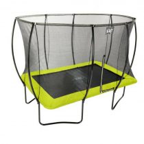 Exit silhouette trampoline 244 x 366 cm groen