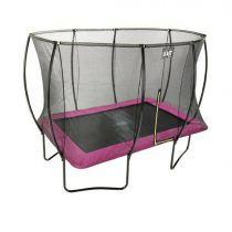 EXIT Silhouette trampoline 244 x 366cm roze