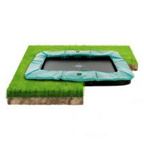 Exit supreme groundlevel trampoline 214x366 cm groen