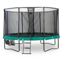 Exit supreme trampoline 427cm met ladder en schoenenzak