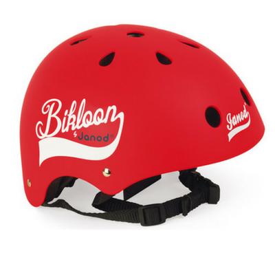 Janod Bikloon fietshelm rood