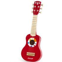 Janod confetti gitaar rood