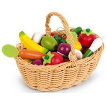 Janod fruit en groentemand 24 stuks