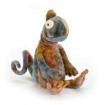 Jellycat knuffel cameleon Colin Chameleon