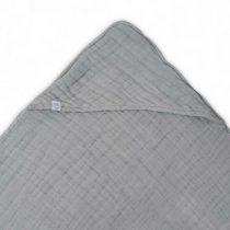 Jollein badcape wrinkled hydrofiel grey