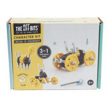 Offbits bouwpakket yellow car M