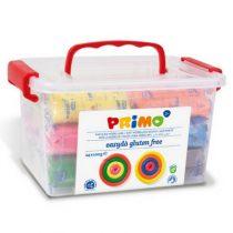 Primo Schoolbox met 6 kleuren klei 24 stuks