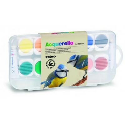 Primo fijne aquarelverf tablet 24 kleuren