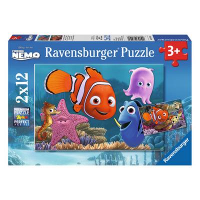 Ravensburger 2 puzzels Nemo ontsnapt