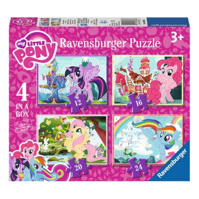 Ravensburger 4 puzzels My Little Pony