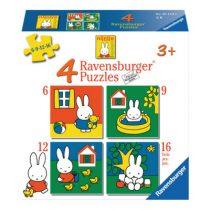 Ravensburger 4 puzzels Nijntje