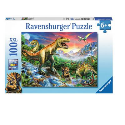 Ravensburger puzzel 100 XXL Bij de dinosaurussen