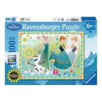Ravensburger puzzel 100 XXL Disney Frozen Fever