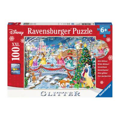 Ravensburger puzzel 100 XXL Disney Princess Glitter