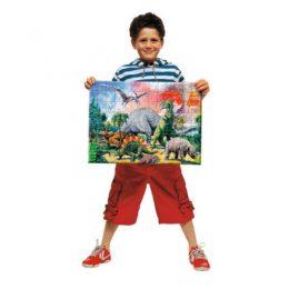 Ravensburger puzzel 100 XXL tussen de dinosauriers