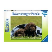 Ravensburger puzzel 300 Labrador pups