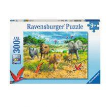 Ravensburger puzzel 300 jonge dieren in Afrika