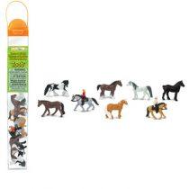 Safari LTD speelfiguurtjes paarden en ruiters kokers