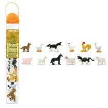 Safari LTD speelfiguurtjes boerderijdieren 2 koker