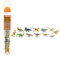 Safari LTD speelfiguurtjes gevederde Dinos koker