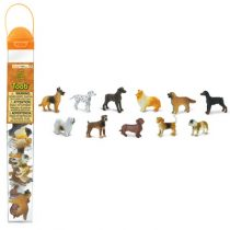 Safari LTD speelfiguurtjes honden koker
