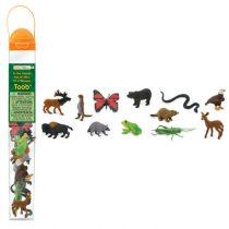 Safari LTD speelfiguurtjes in het bos koker