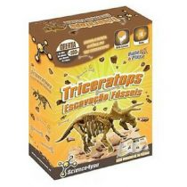 Science4you triceratops fossil excavation