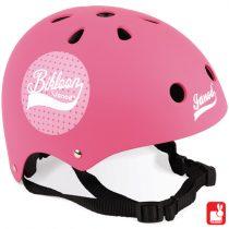 Janod Bikloon fietshelm roze