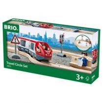 BRIO trein set met passagierstrein